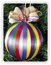 adorno para árbol navideño