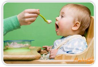 Cu nta cantidad de papilla debe comer el beb seg n su edad - Pures bebes 6 meses ...