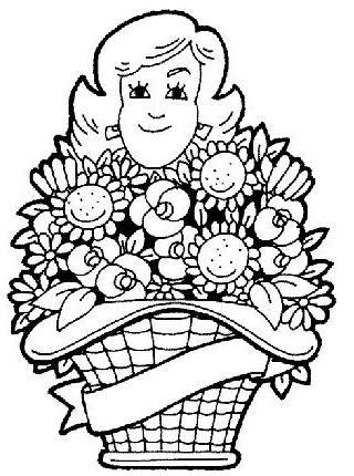 Dibujos para colorear en el Día de la Madre (I)