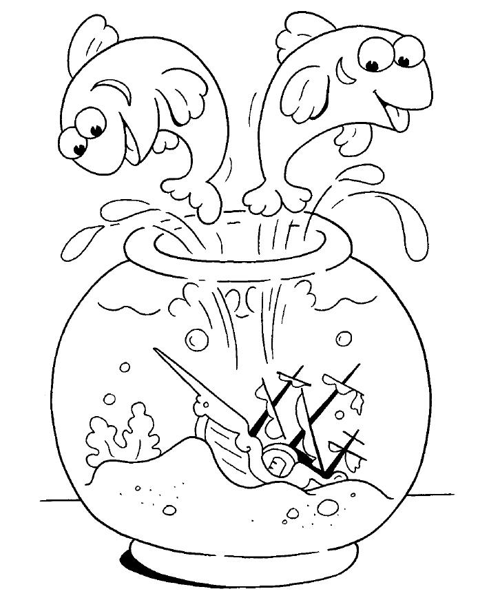 Dibujos divertidos para colorear (I)
