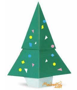 arbol-navidad-origami