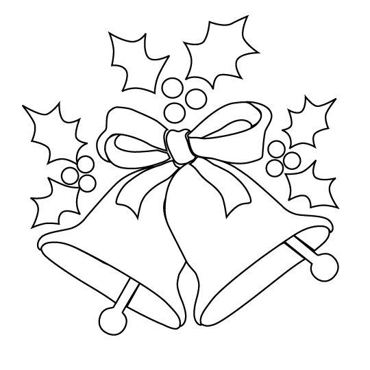Dibujos de Navidad para pintar e imprimir :: Dibujos de la