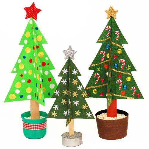 arbol navidad papel 300x300 Árbol de Navidad de papel