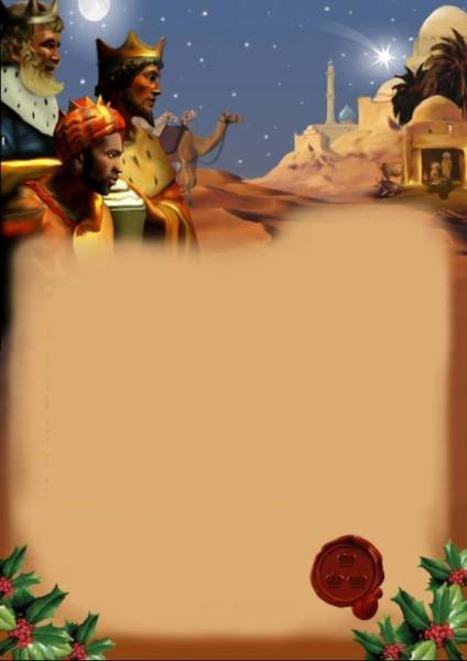 Worksheet. Carta a los Reyes Magos