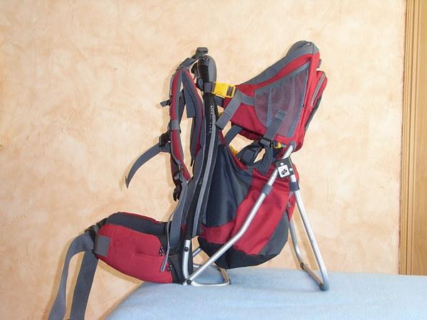 mochila viajera para cargar bebés