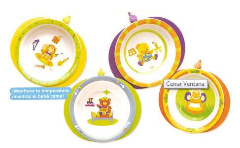 platos para el bebe