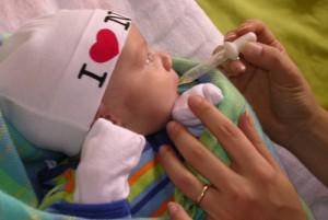 el bebe y las vitaminas