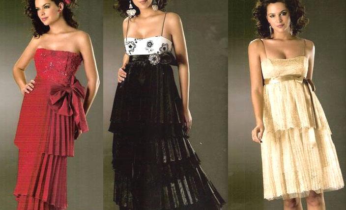 vestidos de noche Vestidos de noche para gestantes