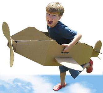 avion-de-carton