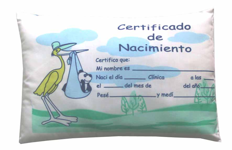 almohada certificada