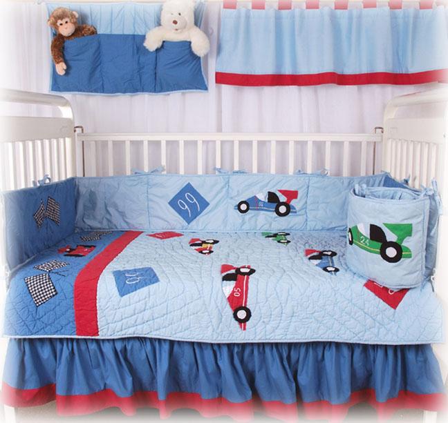 decoración del cuarto de bebes, en carros