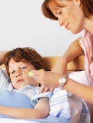 gripe en los niños