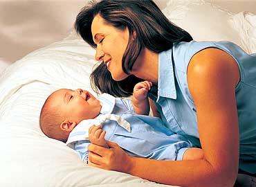 bebes y su madre