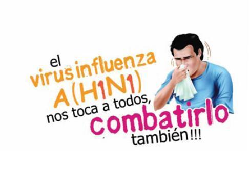 la influenza A H1N1