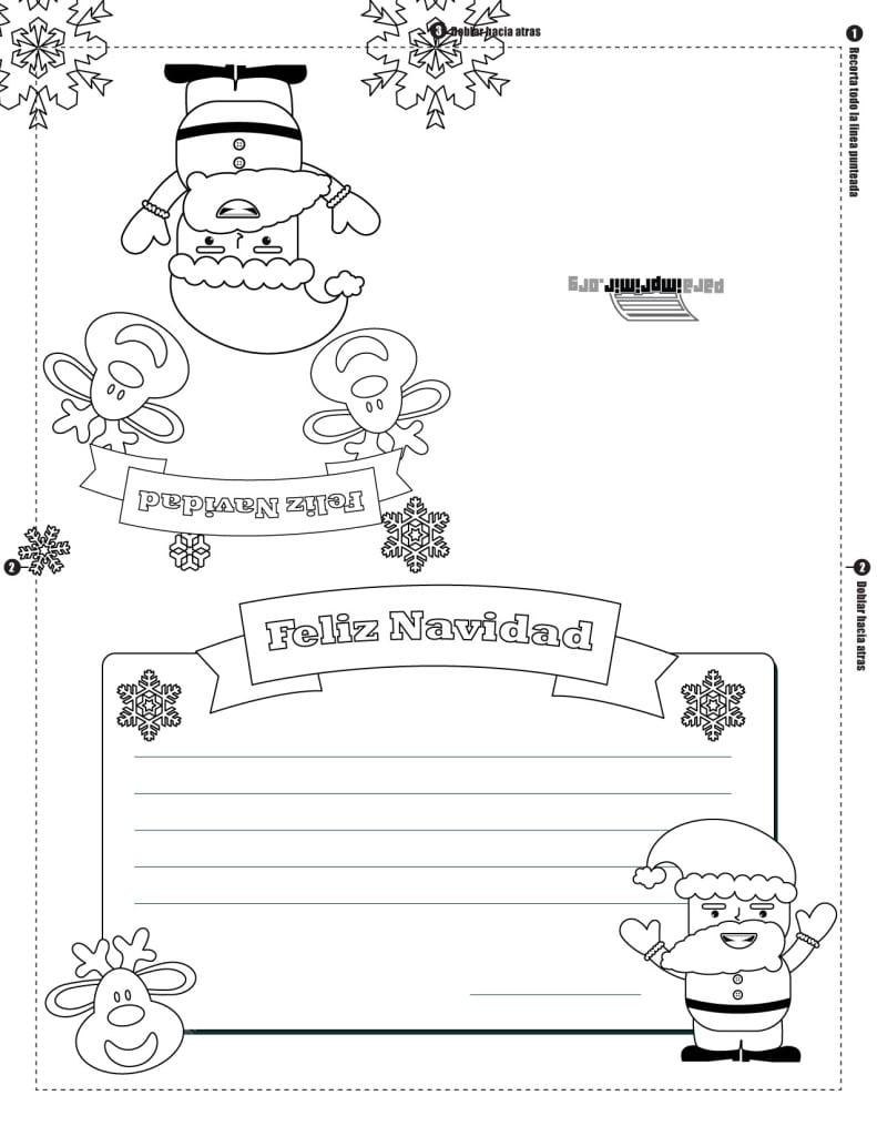 Dibujos Navideños Para Colorear Descarga Gratis