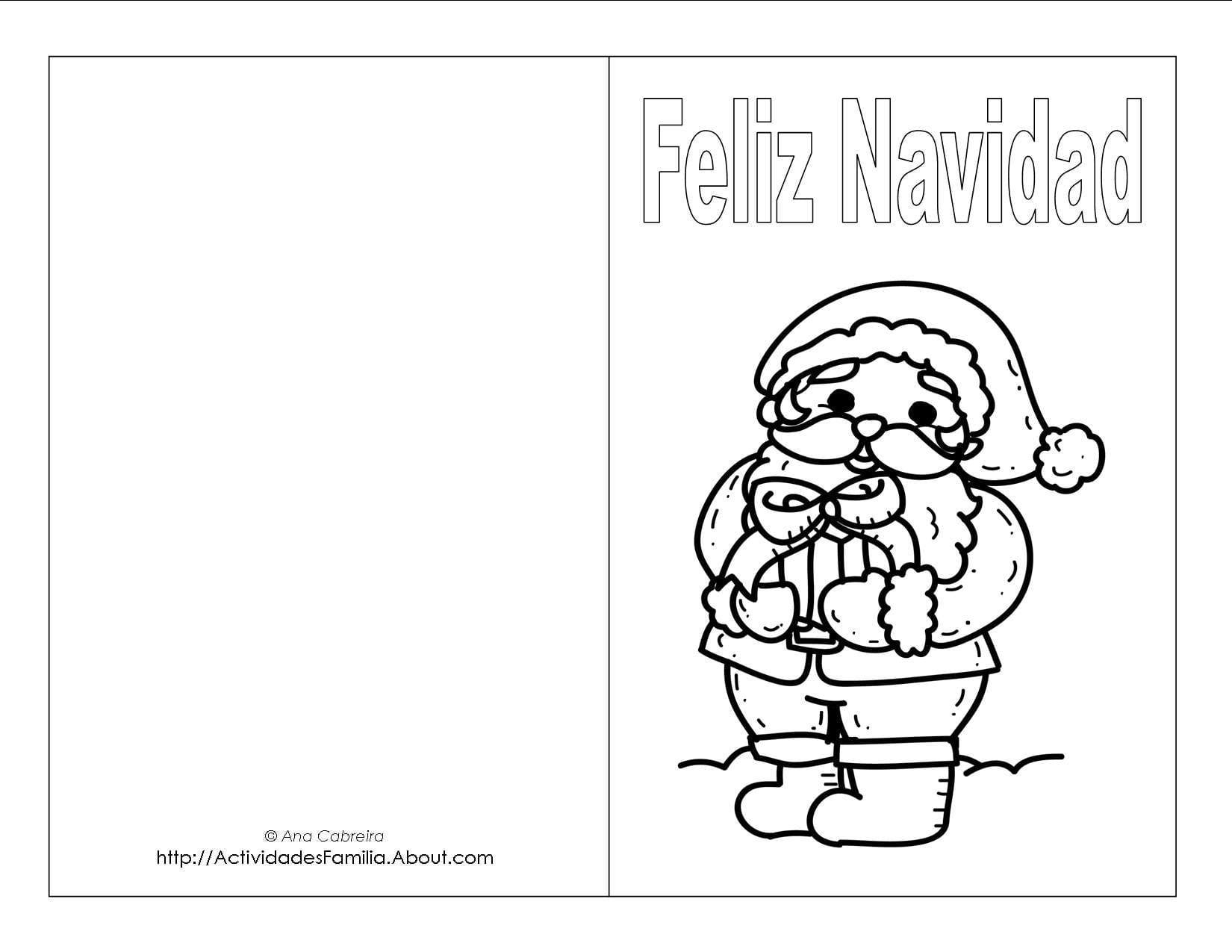 Dibujos navideos para colorear  Descarga GRATIS