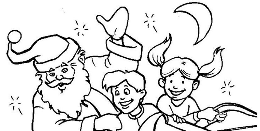Dibujos navideños para colorear | Descarga GRATIS