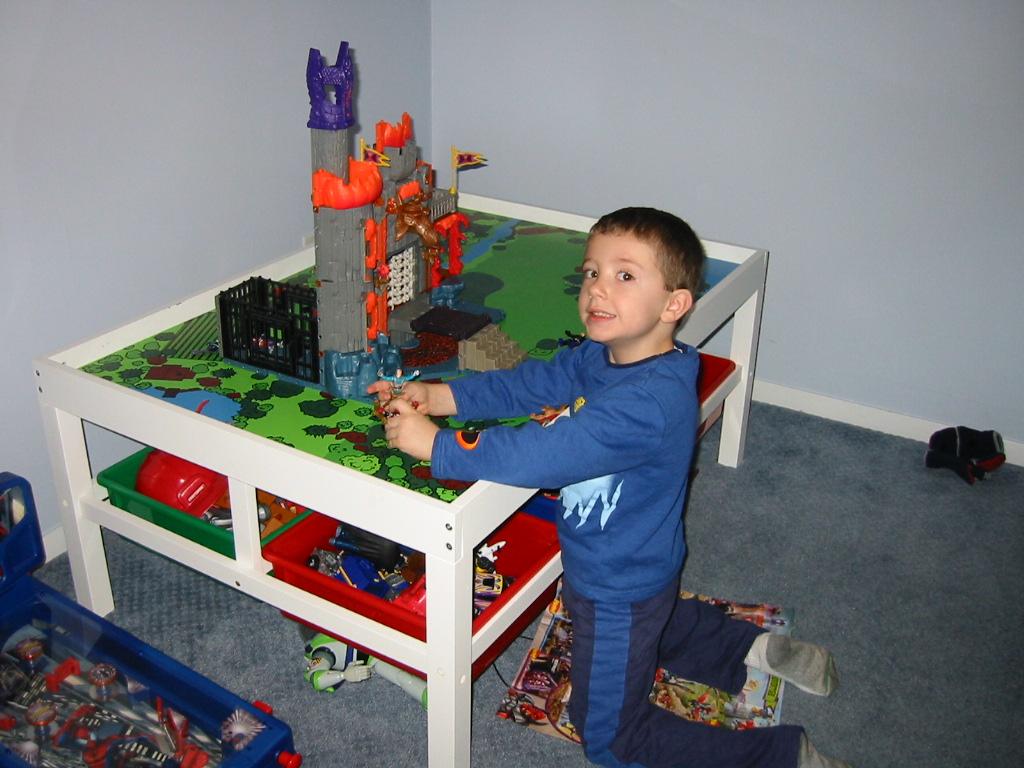 mesa de armar el playgo