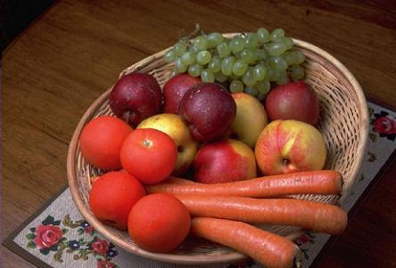 114 Alimentación de frutas y hortalizas durante el embarazo
