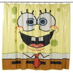 cortina bob esponja