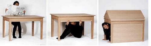 mesa transforma casa