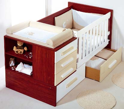 Cunas convertibles para beb s for Cunas para bebes de madera