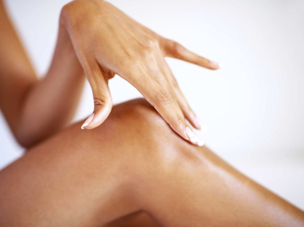 depilacion embarazo pierna