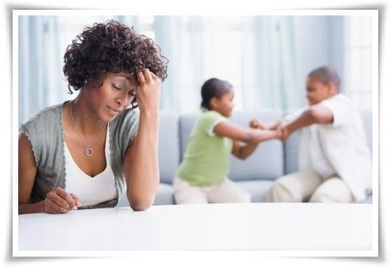 Mamás estresadas