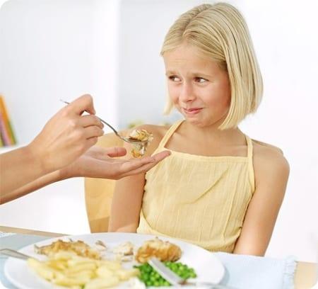 Problemas a la hora de comer