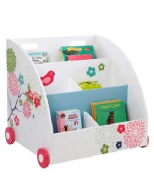 Estanter as con ruedas para la habitaci n de los beb s - Estanteria biblioteca infantil ...