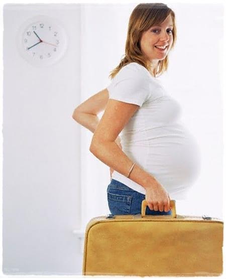 Qué necesitas llevar al hospital cuando estés de parto (para ti)