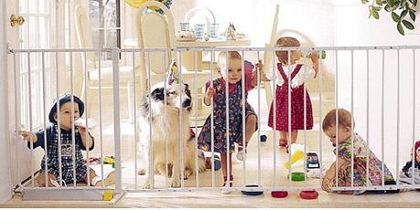 Rejas de seguridad para beb s - Seguro para puertas bebe ...