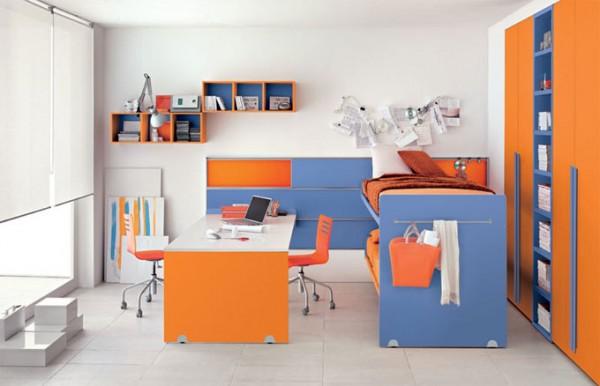 Los muebles de una habitaci n peque a - Amueblar habitacion juvenil pequena ...