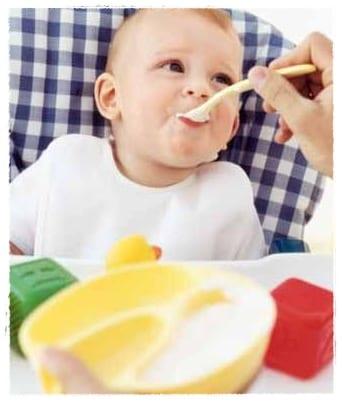 Alimentación de 6 a 9 meses
