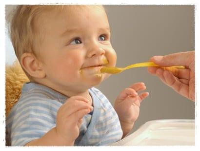 Menú semanal para el bebé de 6 a 9 meses