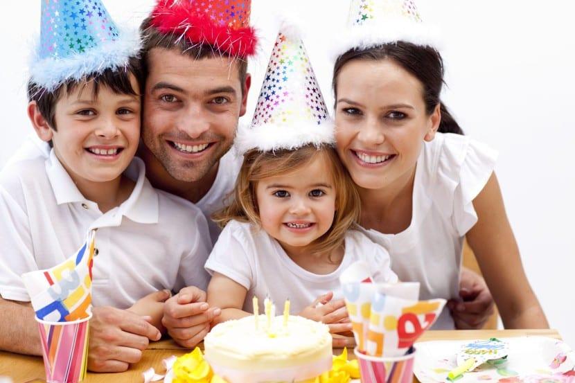 fiesta de cumple familia