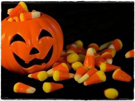 halloween caramelos
