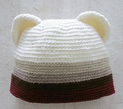 Gorros de oso para niños 09dc78f255a