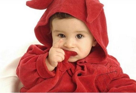 Capturar fotos al bebé
