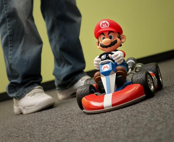 Radio control de Super Mario Kart