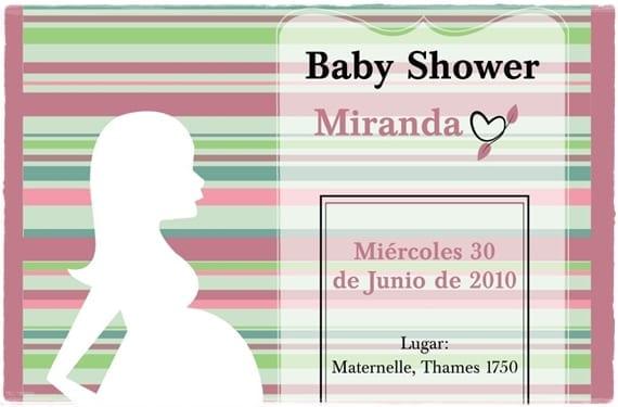 Invitación de Baby Shower