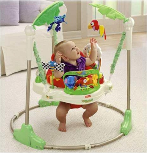 Sillas saltarinas fisher price for Silla fisher price para comer