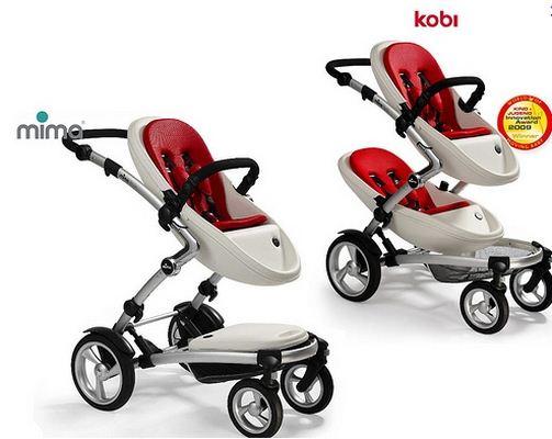 Coches de beb dobles kobi y xari de mima for Coches para bebes