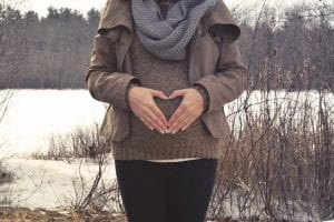 mujer 19 semana embarazo