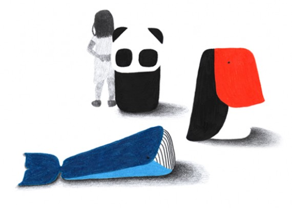 Muebles blandos y con formas de animales