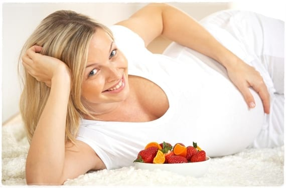 Dieta en el embarazo