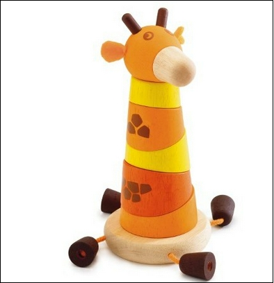 jirafa madera