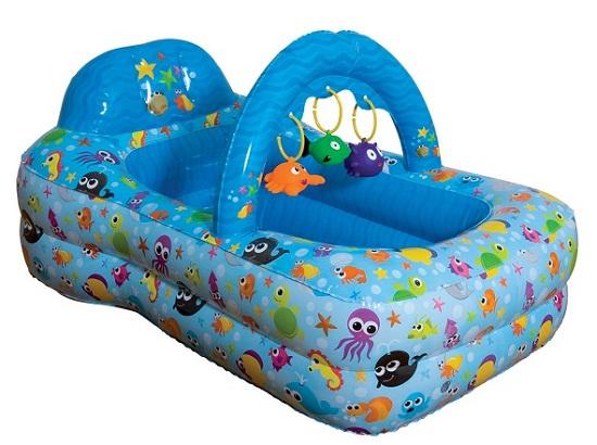 Ba era inflable fun spa for Silla bebe 6 meses