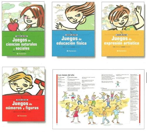 El libro-guía EDUCAR JUGANDO