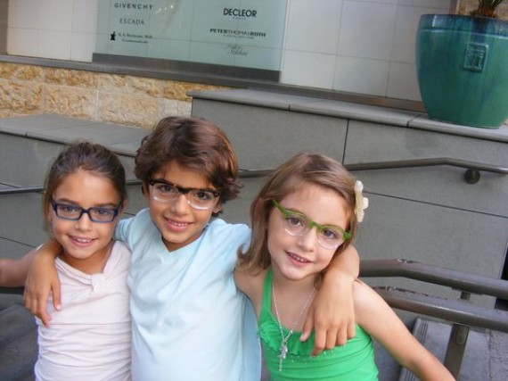 Gafas de sol para niños extendibles